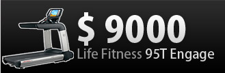 LifeFitness 95T Engage за $9000